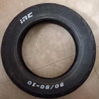 IRC 90/90-10 廃タイヤ