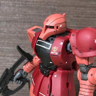 バンダイ 1/144 HG MS-05S シャア専用ザクI…
