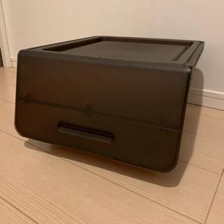 【決まりました!】【無料】収納ボックス 2つの画像