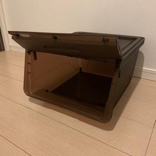 【決まりました!】【無料】収納ボックス 2つ - 福岡市