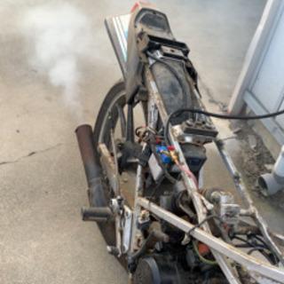 スズキ ガンマ50 ウルフ50 2台セット エンジン実働 レスト...
