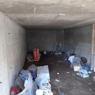 半地下駐車場部分のゴミ捨て@苫小牧市