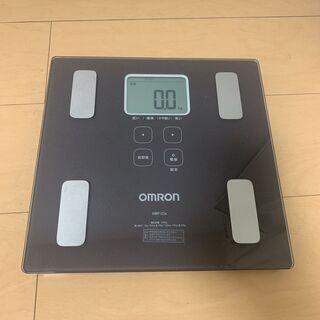 オムロン 体重・体組成計 カラダスキャン ブラウン HBF…