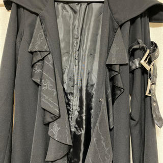 h.naoto DarkRedRUM sixh アウター ゴシック ベルサイユ ヴェルサイユ 黒 - 服/ファッション