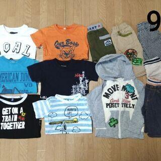 ¥800 まとめ 男の子 春夏 95 Tシャツ ティーシャ…