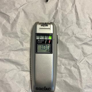 (中古)アルコールチェッカー SOCIAC sc102