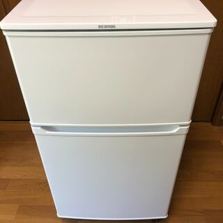 2ドア冷凍冷蔵庫(アイリスオーヤマ・2019年製)