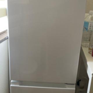 2019年製 HITACHI 冷蔵庫 RL-154KA(W)の画像
