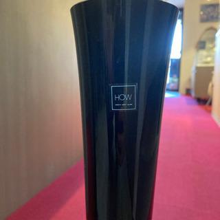 Kurata craft glass 大型ベース 花瓶 【美品】 高さ52cm - 家具