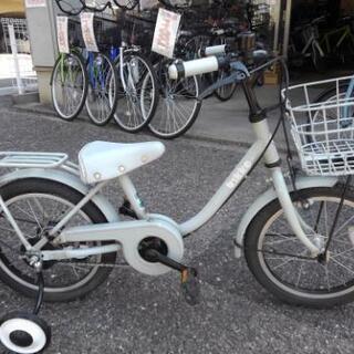 中古子供自転車1474 ブリヂストン ビッケm 16インチ ギヤ...