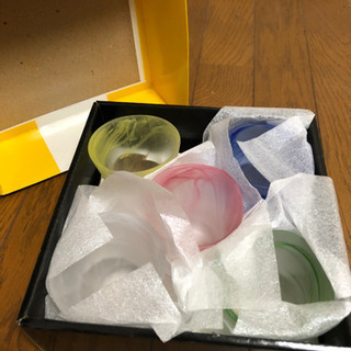 新品未使用 Dr.コパの風水生活  手びねり風 色彩グラス…