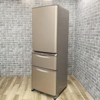 【ハッピー西葛西店】3ドア 370L 冷蔵庫 右開き 三菱…