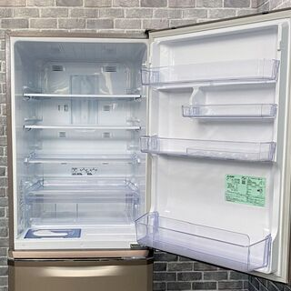 【ハッピー西葛西店】3ドア 370L 冷蔵庫 右開き 三菱電機 2019年式 ID:57203 - 江戸川区