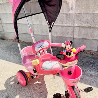 おしゃべりミニーちゃん 三輪車