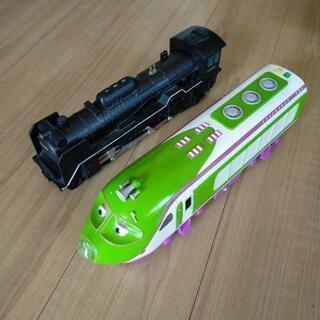 中古大型チャギントンのココ、機関車2台セット