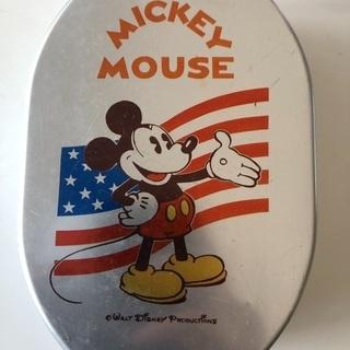 ミッキーマウス アルミ 弁当箱