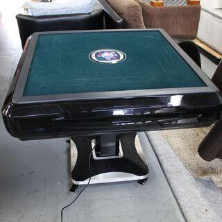T828) サンコー 全自動麻雀卓 折り畳み式 テーブル型 正方...