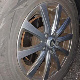 ベルファイアについてたスタッドレスタイヤ+ホイール 4セット