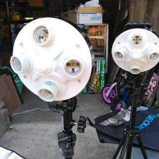 カメラマンの為の照明器具❗