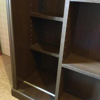 【お取引中】 スライド付き本棚