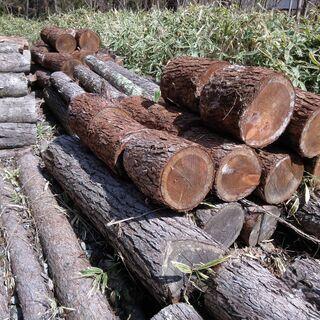 薪用の木、軽トラでお届け