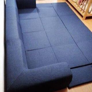 カバーリングフロアマット付きソファを売ります。