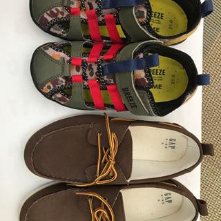 【ネット決済】キッズ靴 21センチ 22センチ