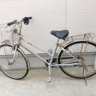 【27インチ】4/24削除 ギア付 自転車 通学 バイク
