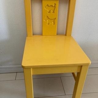 IKEA 子供用イス 防災頭巾付
