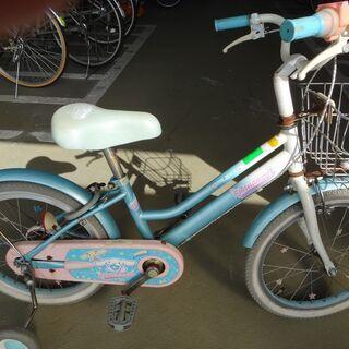 子供補助車つき自転車 16インチ