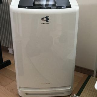 【ネット決済・配送可】ダイキン 空気清浄機(加湿器機能、除湿機能付き)