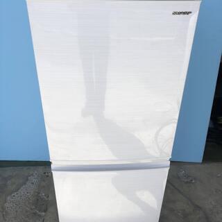 シャープ SHARP ノンフロン冷凍冷蔵庫 137L SJ…