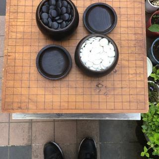 脚付き碁盤