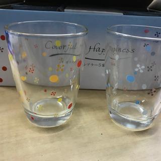 新品 ガラスタンブラー コップ タンブラー