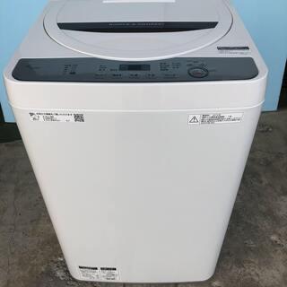 SHARP シャープ 全自動洗濯機 ES-GE4C-T 4…