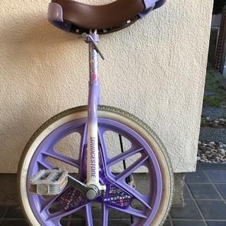 一輪車譲ります
