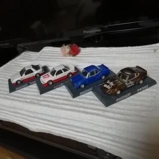 ミニカー シャコタンブギ ハコスカ 外4台セット