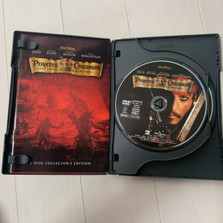 DVD パイレーツオブカリビアン