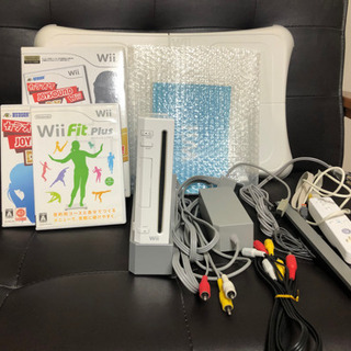 Wii セット カラオケ、wiiFit Plus付き
