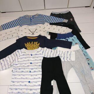 子供服 男の子 サイズ90(95) 長袖3点、半ズボン2点…