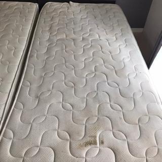 シングルベッドのセット、お譲りします。 - 家具