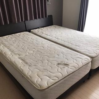 シングルベッドのセット、お譲りします。の画像