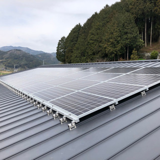 太陽光パネル、蓄電池設置