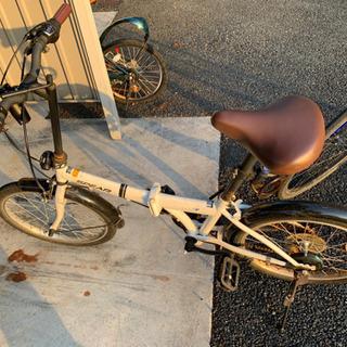 自転車(折りたたみ)受け渡し予定者決定済み