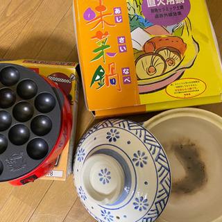 たこ焼き 土鍋