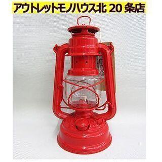 ☆未使用【フュアーハンド ハリケーンランタン 276】ルビーレッ...