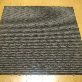 日本製タイルカーペット厚み7.5mm・1枚190円・在庫600枚...