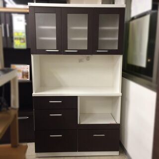 J532 ニトリ 食器棚 キッチンボード Nバンダ N B…