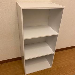 【0円】白の本棚