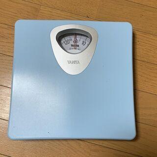 ■TANITAの体重計。ほぼ新品